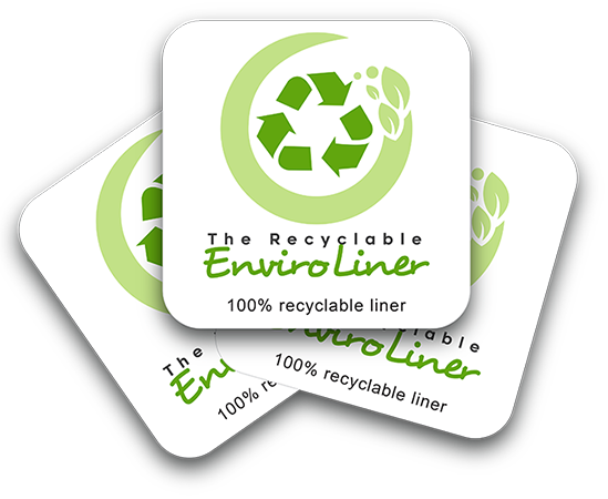 Environmental Labels - Roll Repositionable