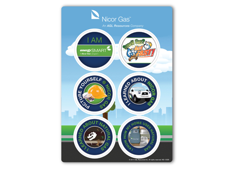 Environmental Sticker Sheets